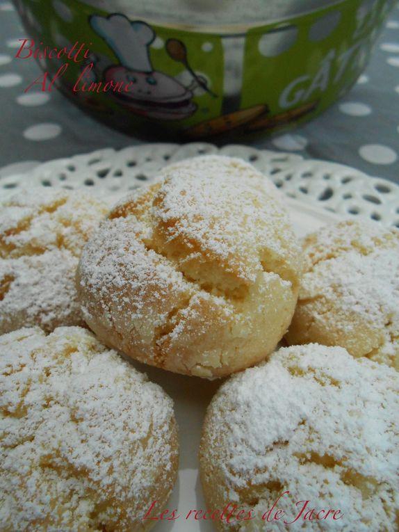 Biscuits tendres au citron/biscotti morbidi al limone