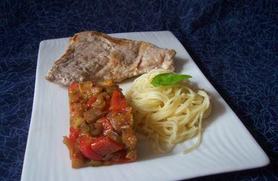 """Sauce provençale """"Clovis"""" aubergine et poivron rouge"""