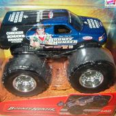 BOUNTY HUNTER MONSTER JAM HOT WHEELS 1/64 BIG FOOT - car-collector.net