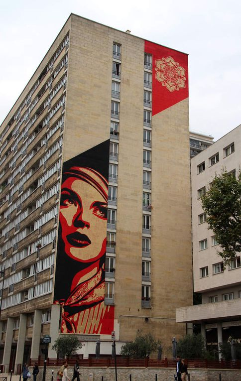 Obey (Shepard Fairey) - Paris 13