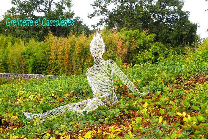 Exposition Formes de l'Invisible, Daniela Capaccioli au Parc Floral de Paris ; Objets inanimés avez vous donc une âme