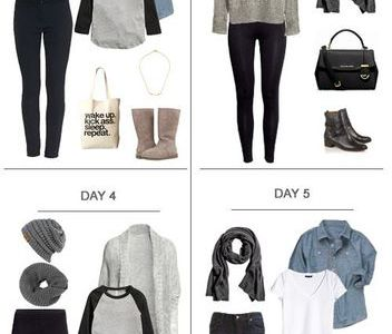 The Benefit To Create a Capsule Wardrobe