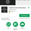 [Avis] L'application Citation de motivation