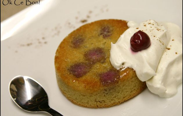 Clafoutis aux cerises et sa crème cannelle selon Anne Sophie Pic