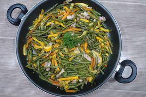 Poêlée de légumes du jardin
