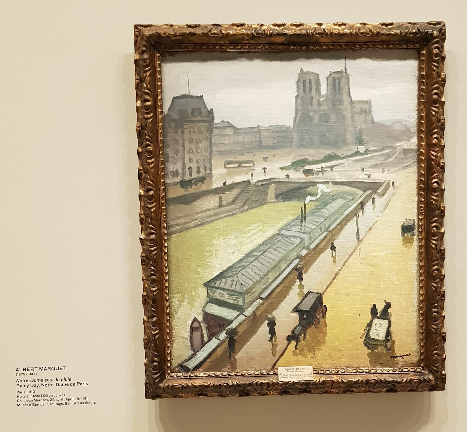 Collection Morozov fondation Vuitton