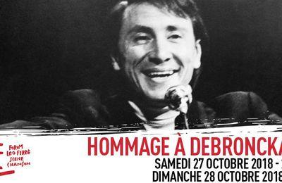 Au Forum Léo Ferré cette fin de semaine. Jacques Debronckart