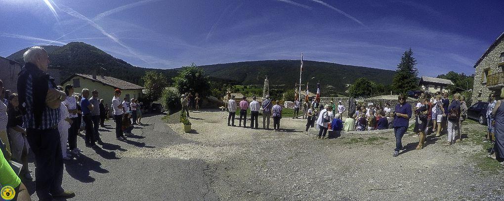 Dimanche procession ; tradition et première commémoration au nouveau  emplacement du monument aux morts