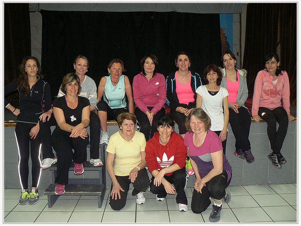 Saint André les Alpes: le cours de gym a toujours autant de succès