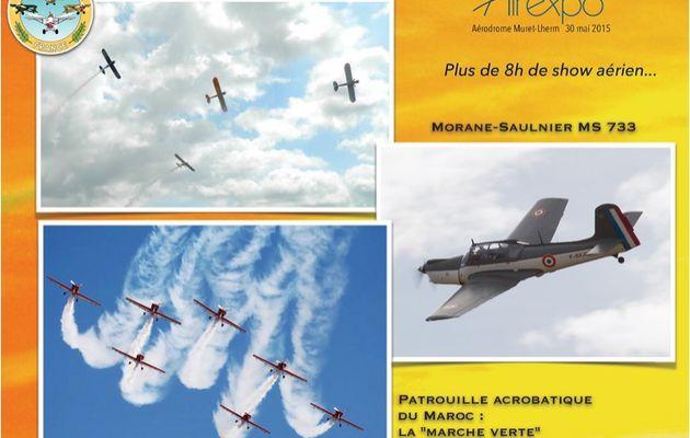 Airexpo 2015 : Programme détaillé n°2...