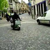 Goldwing - tour du centre ville - le Unsersbande au rétro moto Molsheil RMC67 du 2013