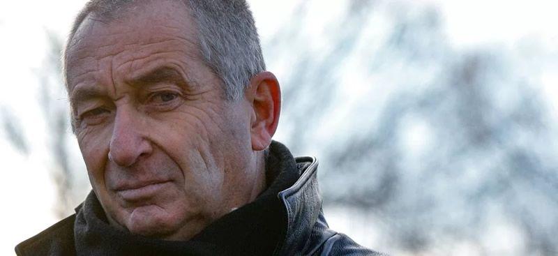 Eric Mouzin, le père d'Estelle Mouzin, le 9 janvier 2021 à Guermantes. ©GEOFFROY VAN DER HASSELT / AFP