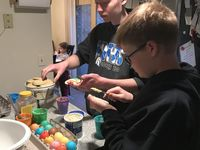 oeufs de paques cookies