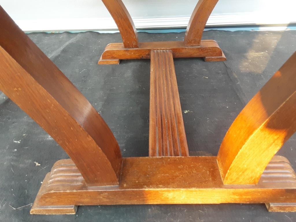 TABLE LYRE ART DECO A 2 ALLONGES - 220 euros