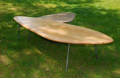 "Tables basses design "" Galet """