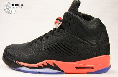 Nike Air Jordan V 3LAB5 Infrared 23