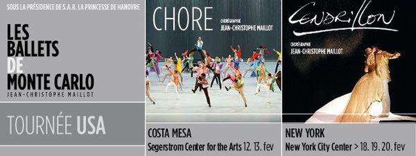 Cellule éducative des Ballets de Monte-Carlo et CREA: SINGING IN THE TRAIN : les 25 et 26 février 2016 à 20h au Grimaldi Forum de Monaco