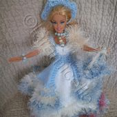 tuto gratuit barbie; châle, chapeau et ombrelle pour princesse iridia - Chez Laramicelle