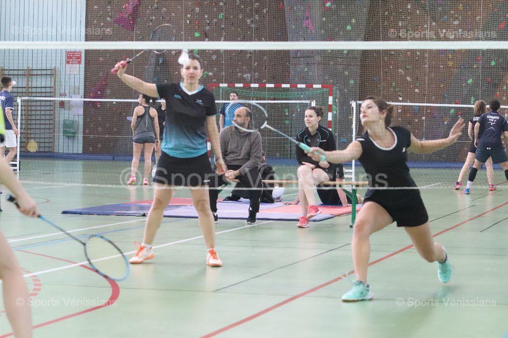 Deux victoires de plus pour l'équipe fanion du Badminton Vénissieux Sud-Est