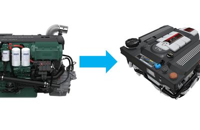 Volvo Penta marine engine shortage - the Mercruiser MD3.0, a good alternative to the Volvo D4