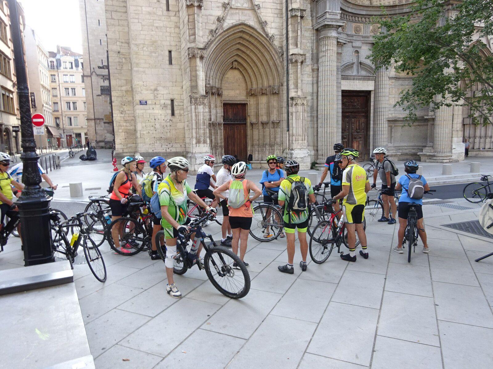 Lyon sur les pistes cyclables - 15 aout 2021