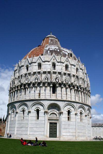 Le baptistère - PISE - Toscane - Italie