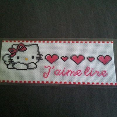Marque pages Hello kitty