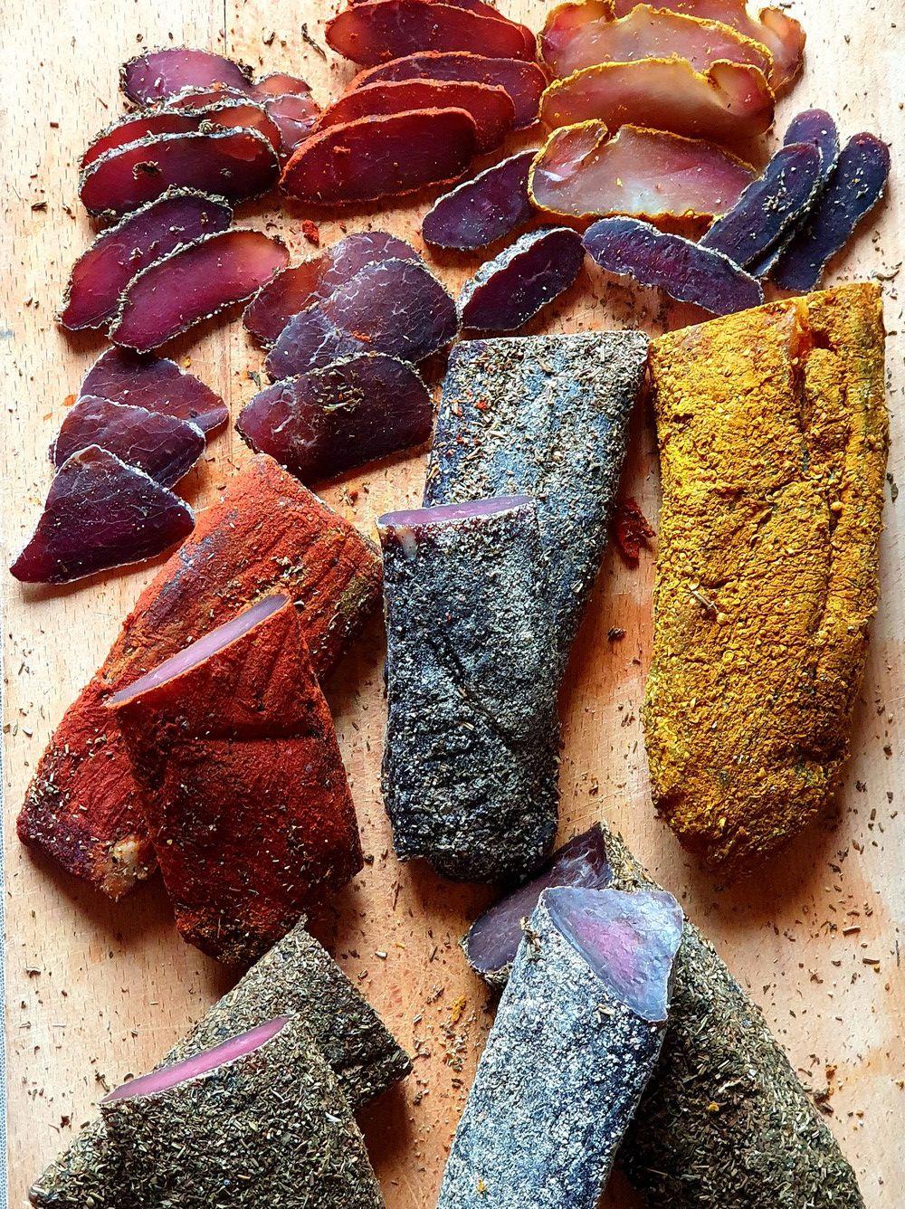 salaison sous vide : recette de la viande salée puis séchée et du boeuf jerky