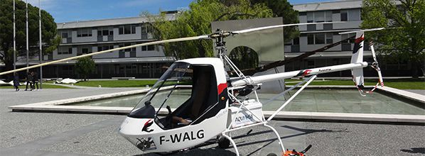 Inaugural flight of the all-electric helicopter VOLTA
