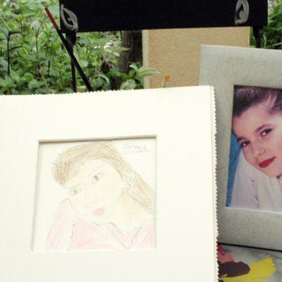 cours de dessin enfants, 7 ans, le portrait