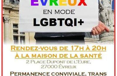 Fiertes Colorées LGBTQI+  arrive sur Evreux !
