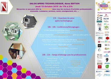Salon apéro technologique, 4ème édition