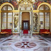 Assemblée nationale - Les peintures de Delacroix dans le Salon du Roi