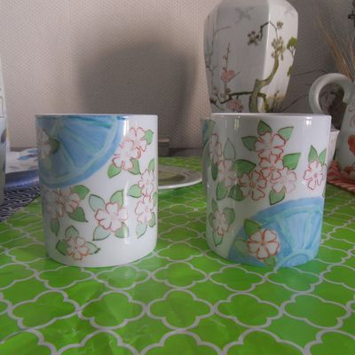 Idées décoration pour mugs