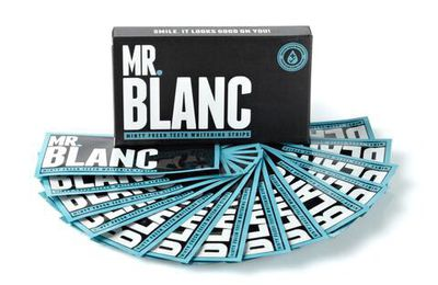 Mr. Blanc - Strips pour blanchiments des dents