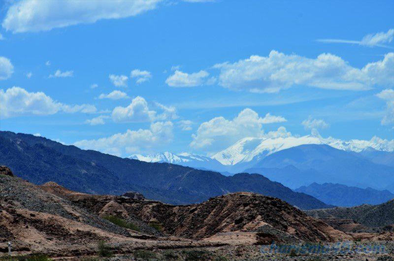 La Quebrada de las flechas, Argentine en camping-car