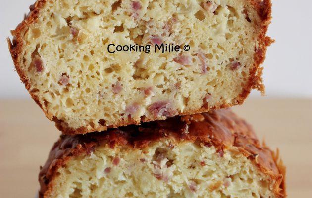Apéritif dinatoire #88 - Cake au comté, jambon et oignon