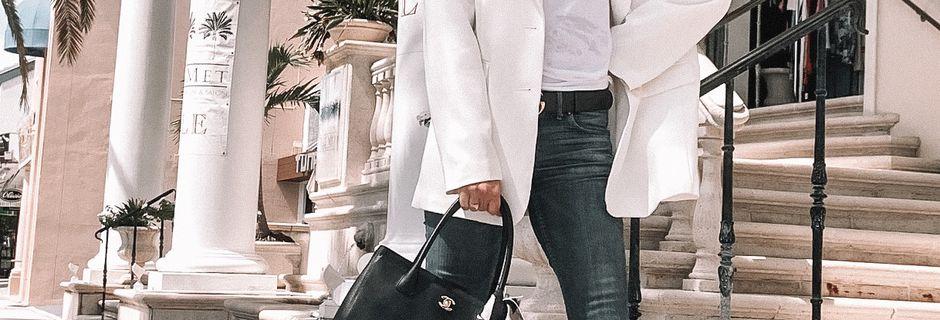 How to wear an Oversized or Boyfriend Blazer?
