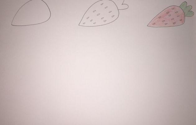Apprendre à dessiner aux loukoums, en 3 étapes