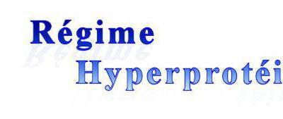 Nutritionniste regime hyperproteine