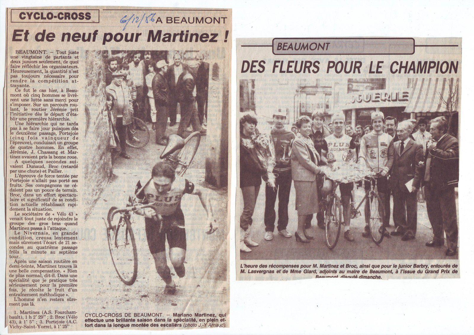 Cyclo-cross de Beaumont