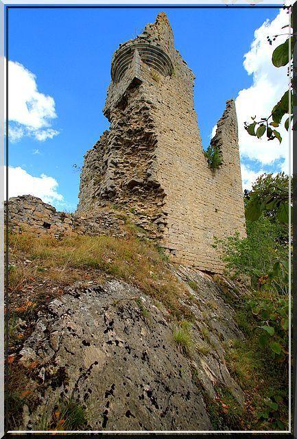 Diaporama château de BEAUREGARD - Publy