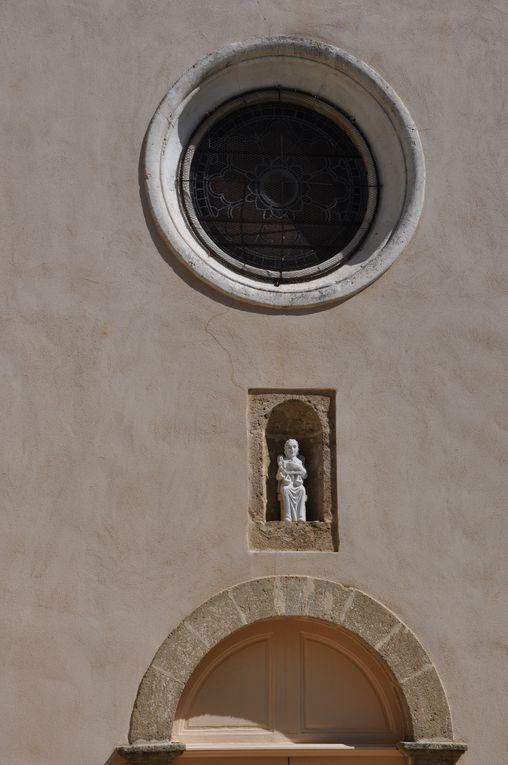 Première sélection des images destinées à l'exposition sur le patrimoine d'Uchaux