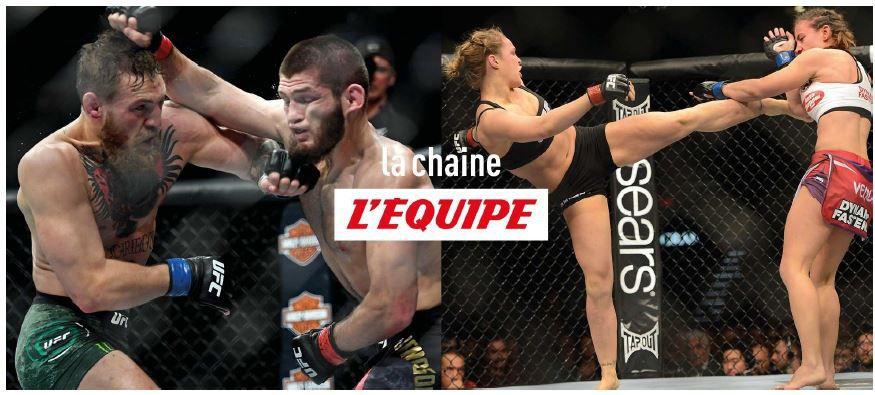 MMA : la Chaîne L'Équipe programme le samedi soir des rediffusions des meilleurs combats de l'UFC