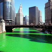 St Patrick's day (homework) - a frog in your pond
