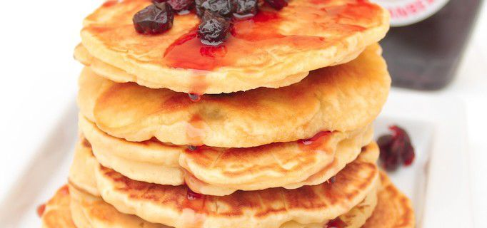 Pancakes aux Cranberries {Degustabox Août 2018}