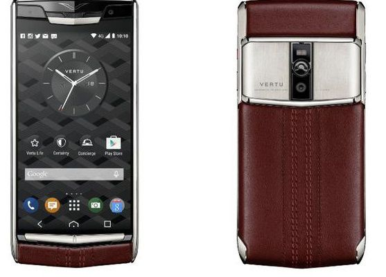 Signature Touch de Vertu : un smartphone à 8400 euros :