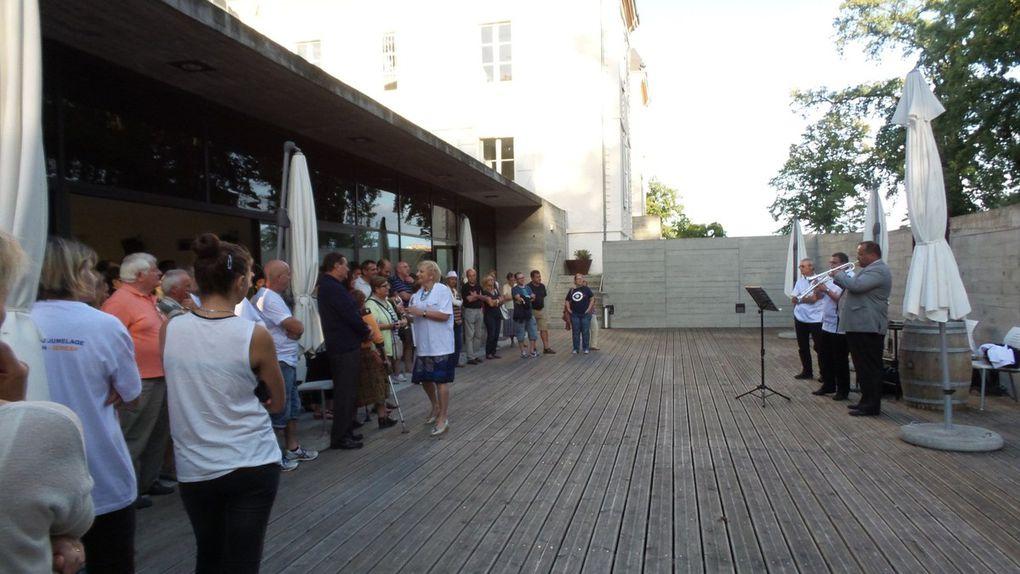 FRONTON - XERESA COMMÉMORATION DES 20 ANS DU JUMELAGE