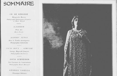 Critiques de Le Crime du Docteur, L'Épave et Les Femmes de Setnê par Georges Casella (1903)