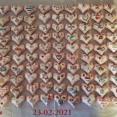 Album des Cœurs Valentin Numéro 2